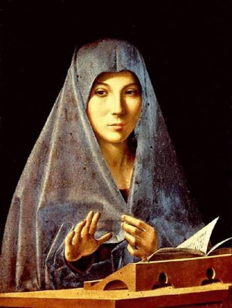 virgin annunciated 1476 XX museo nazionale palermo